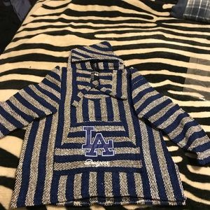 Sweaters - Dodgers (large only) and Raiders Poncho (s-xl)